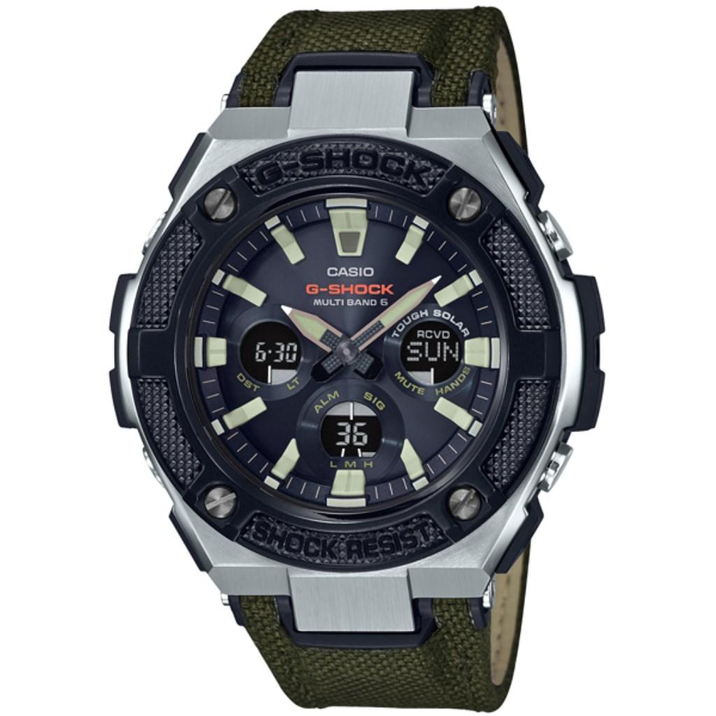 【34時間限定ポイント5倍 & 最大3万円OFFクーポン配布中】CASIO カシオ 腕時計 メンズ Gショック GST-W330AC-3AJF G-SHOCK
