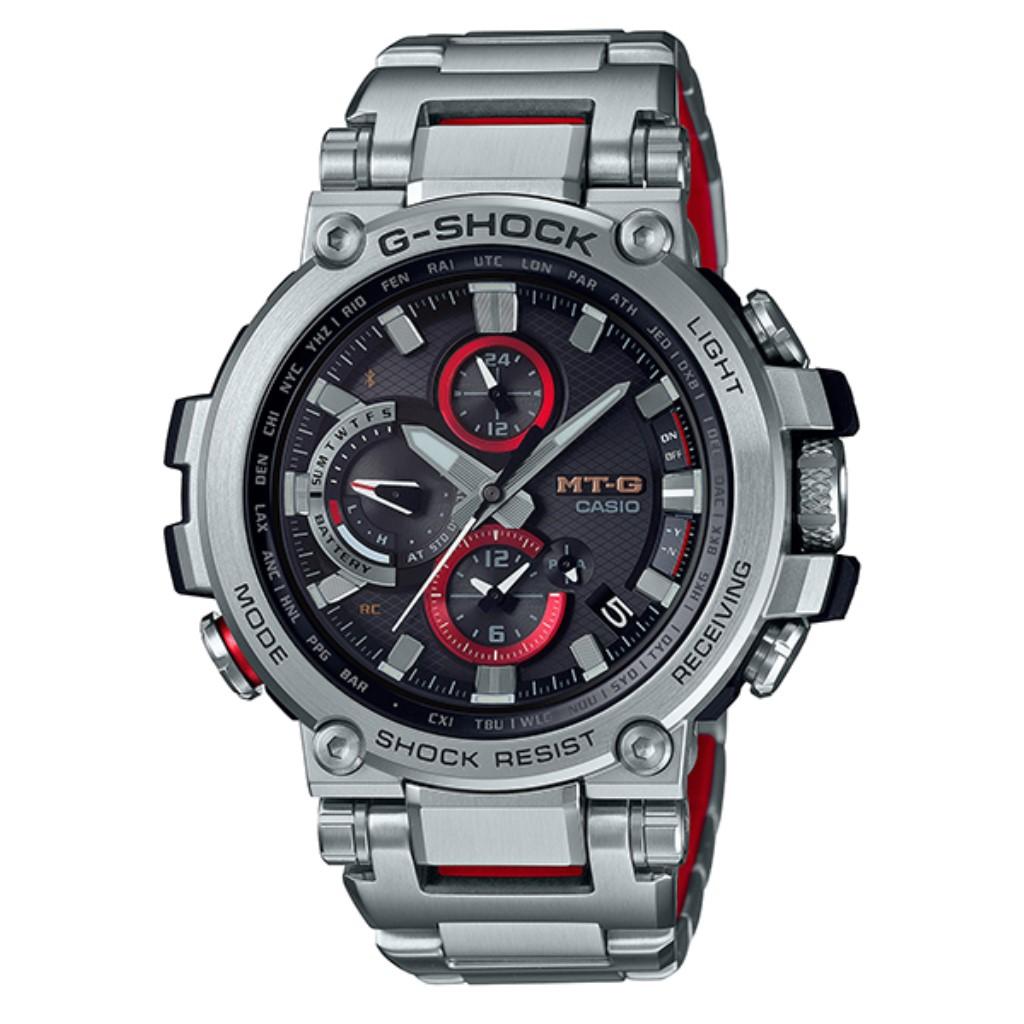 【72時間限定ポイント3倍】【72時間限定ポイント3倍】カシオ 腕時計 メンズ G-ショック MTG-B1000D-1AJF G-SHOCK MT-G