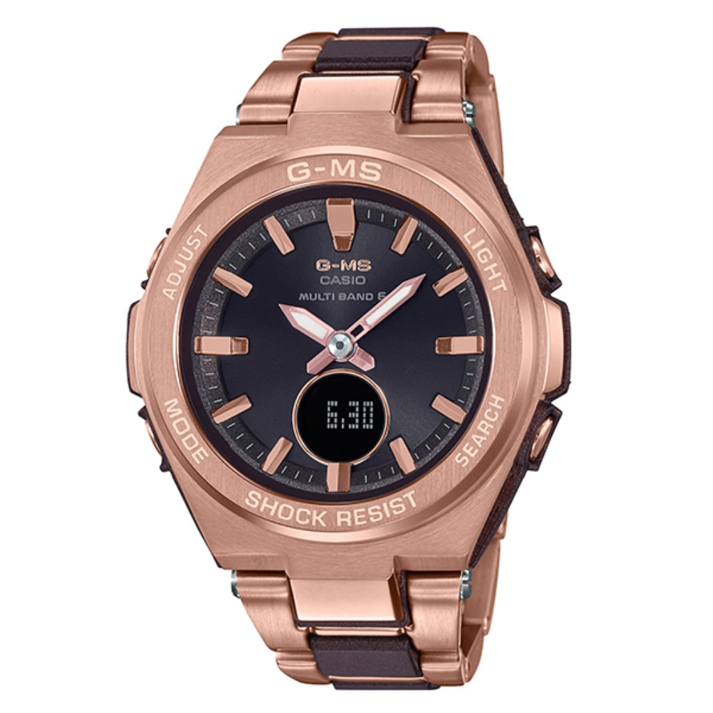 【72時間限定ポイント3倍】CASIO カシオ 腕時計 レディース ベビーG MSG-W200CG-5AJF G-ms