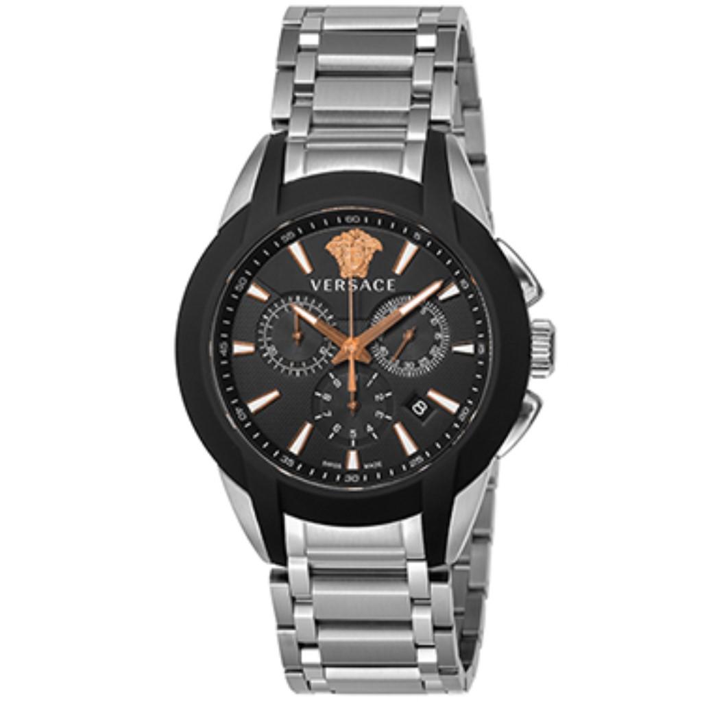 【期間限定ポイント5倍】VERSACE ヴェルサーチ 腕時計 メンズ キャラクタークロノ VEM800218