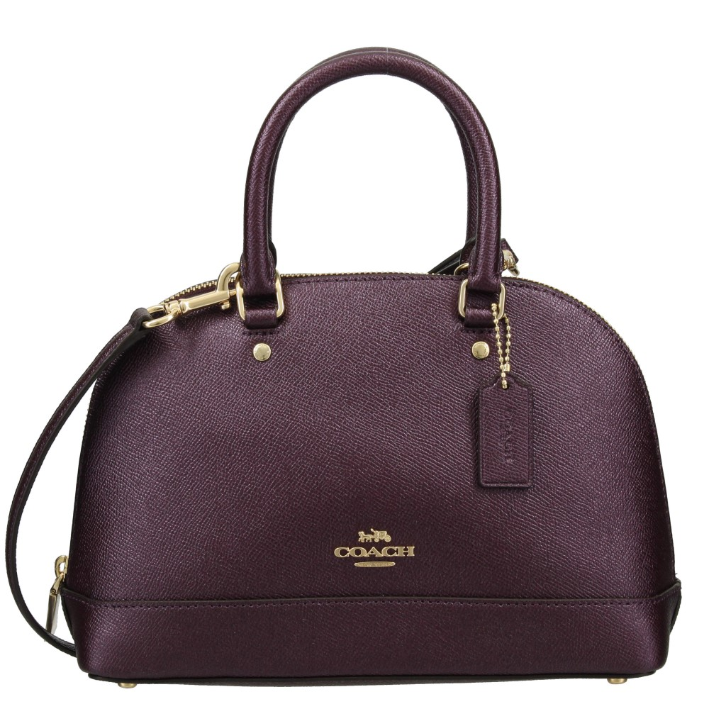 COACH OUTLET コーチ アウトレット ハンドバッグ レディース メタリックラズベリー F29170 IMO2A