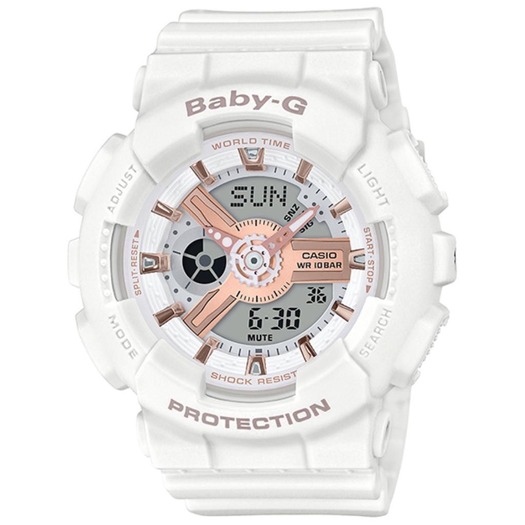 【72時間限定ポイント3倍】CASIO カシオ 腕時計 レディース Baby-G BA-110RG-7AJF ベビーG
