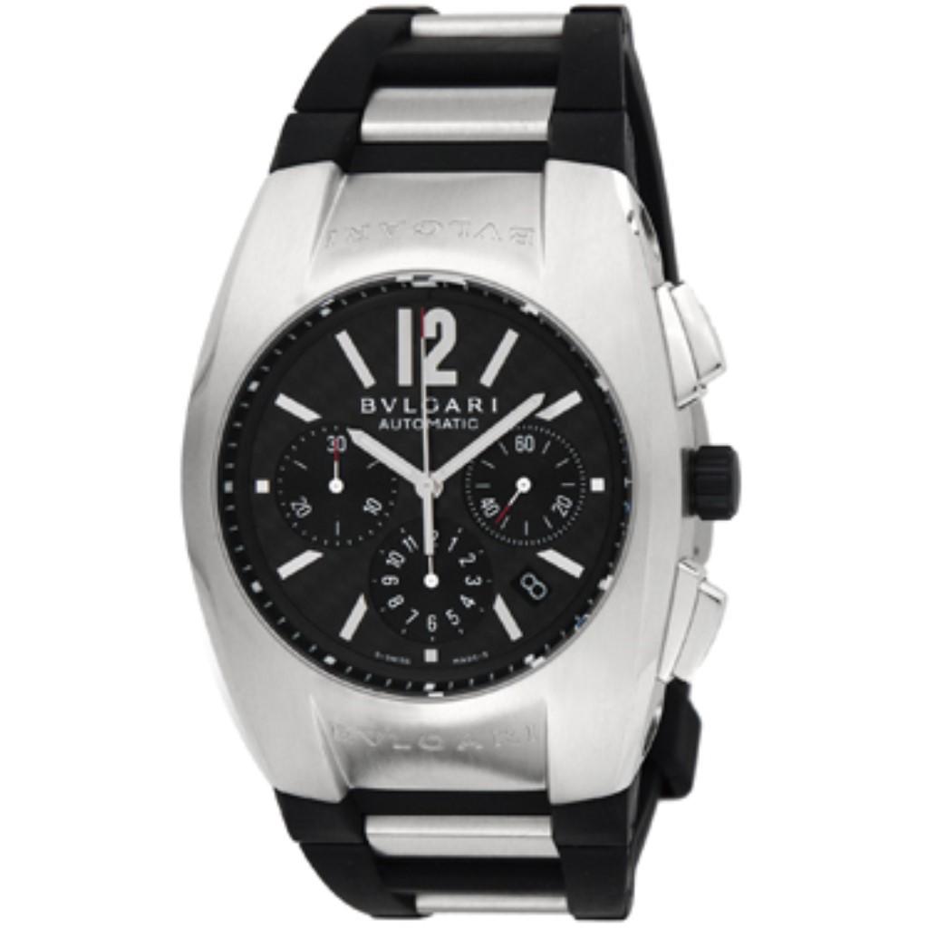 【48時間限定ポイント10倍 5/13 9:59まで】BVLGARI ブルガリ 腕時計 メンズ エルゴン カーボンブラック EG40BSVDCH