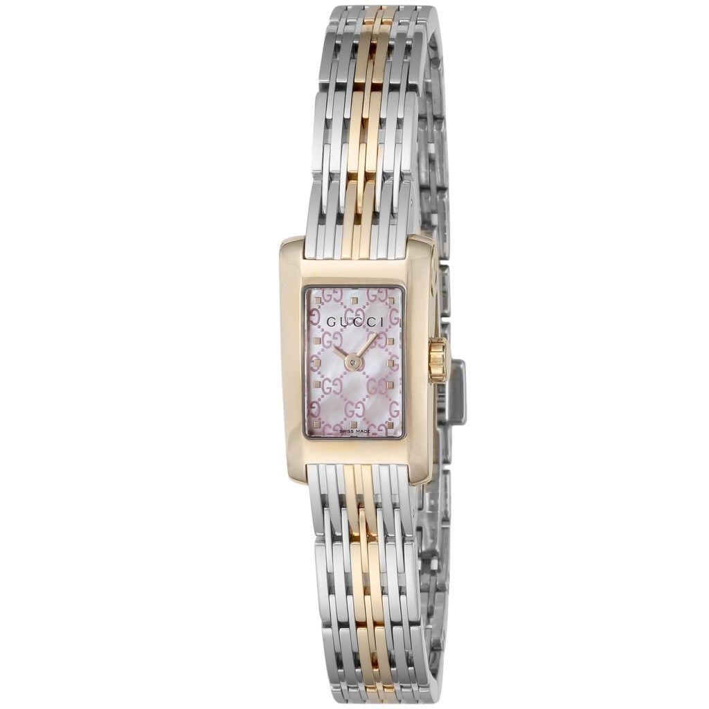 【期間限定ポイント10倍】グッチ 腕時計 レディース GUCCI Gメトロ ピンクパール YA086515