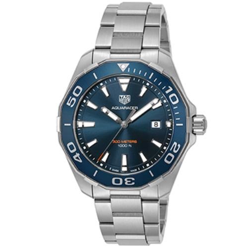 【72時間限定ポイント5倍】TAG Heuer タグホイヤー 腕時計 メンズ アクアレーサー ブルー WAY101C.BA0746