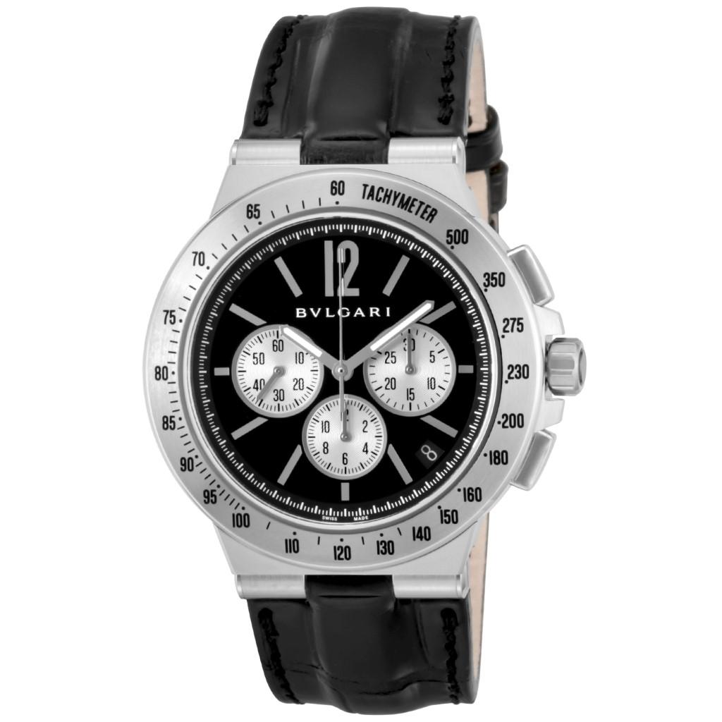 【期間限定ポイント5倍】BVLGARI ブルガリ 腕時計 メンズ ディアゴノタキメトリック ブラック DG41BSLDCHTA