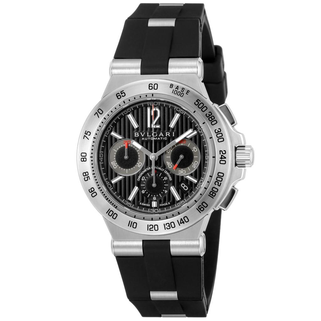 【期間限定ポイント10倍】BVLGARI ブルガリ 腕時計 レディース ディアゴノプロフェッショナル ブラック DP42BSVDCH