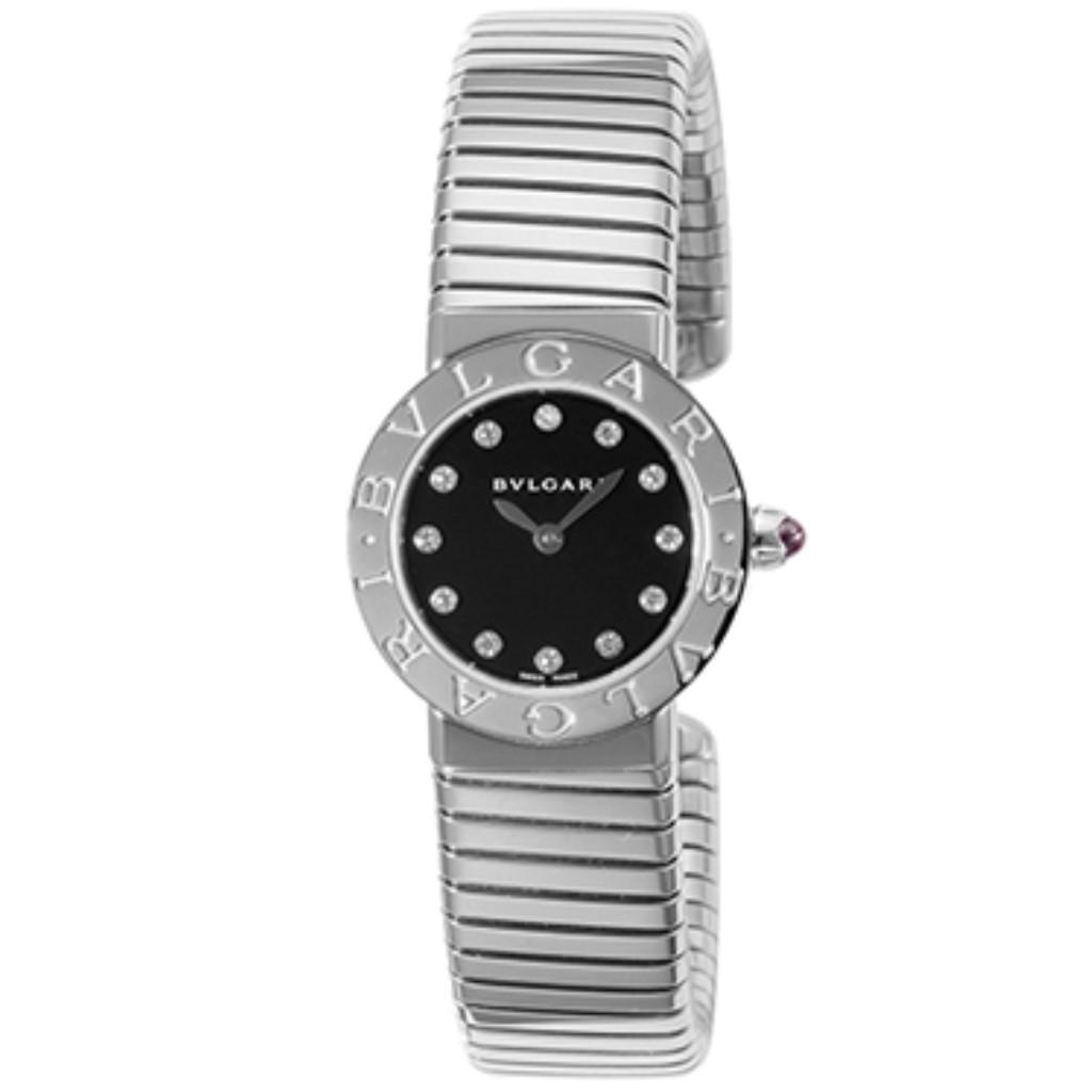 【72時間限定ポイント5倍】BVLGARI ブルガリ 腕時計 レディース トゥボガス ブラック BBL262TBSS/12.M