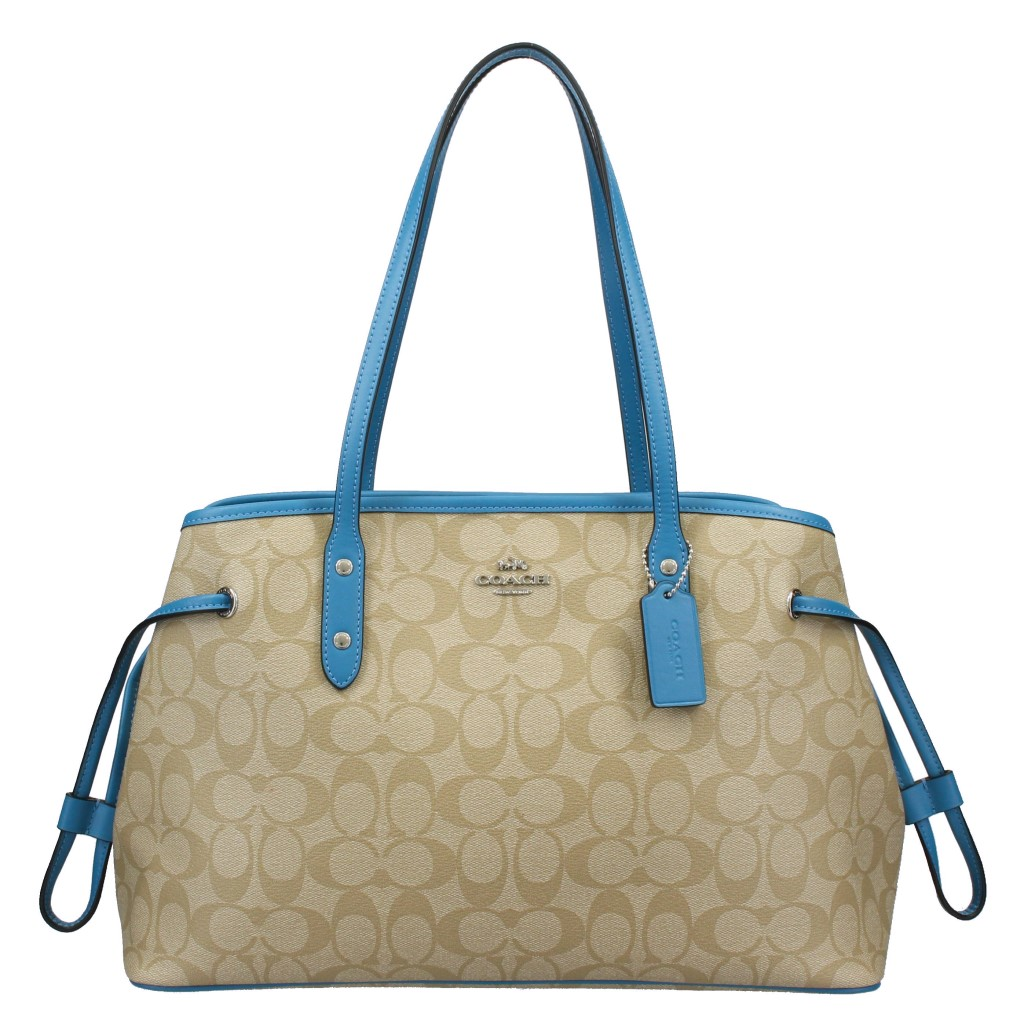 COACH OUTLET コーチ アウトレット トートバッグ レディース ライトカーキ F57842 SVNQX