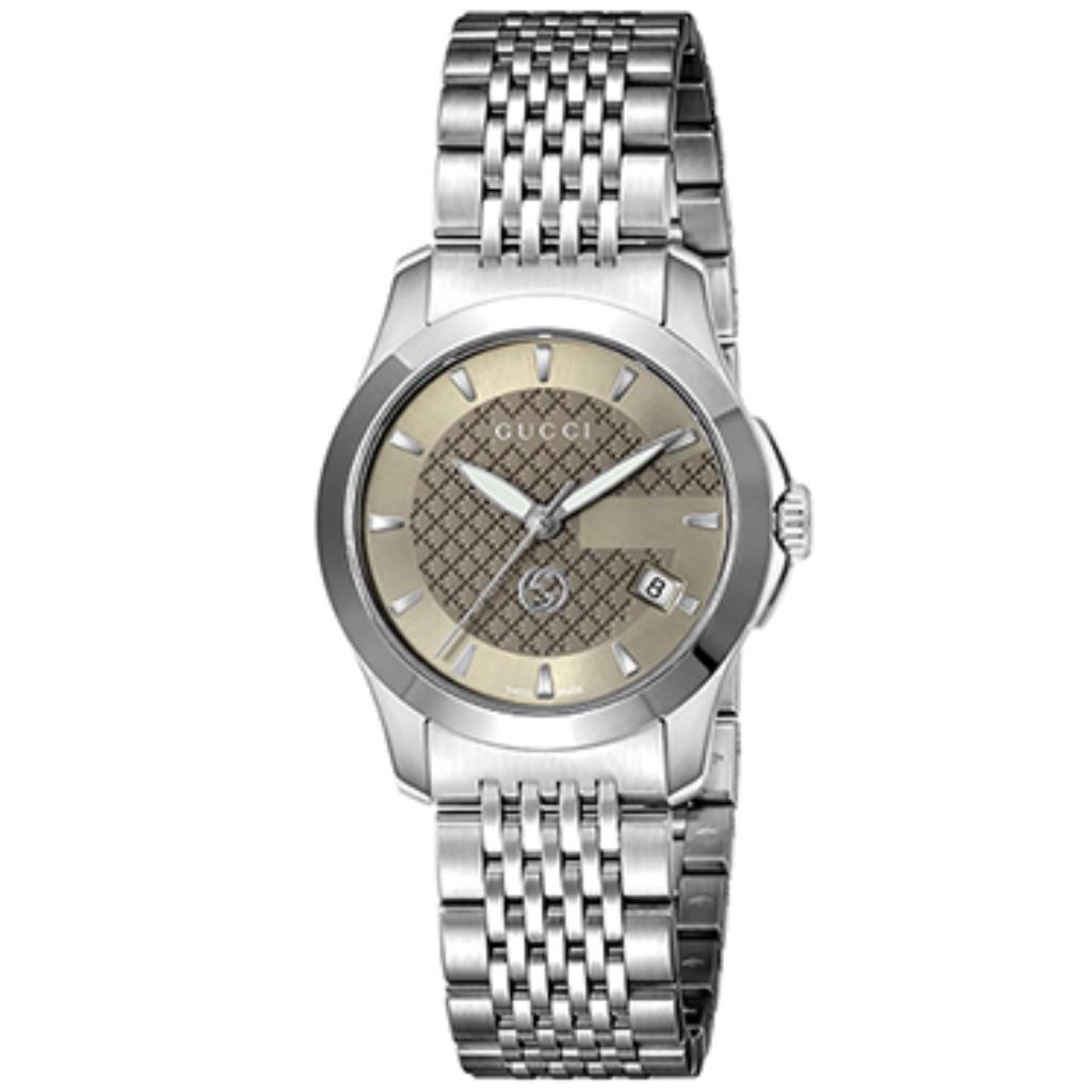 【期間限定ポイント10倍】グッチ 腕時計 レディース GUCCI Gタイムレス ブラウン YA1265007