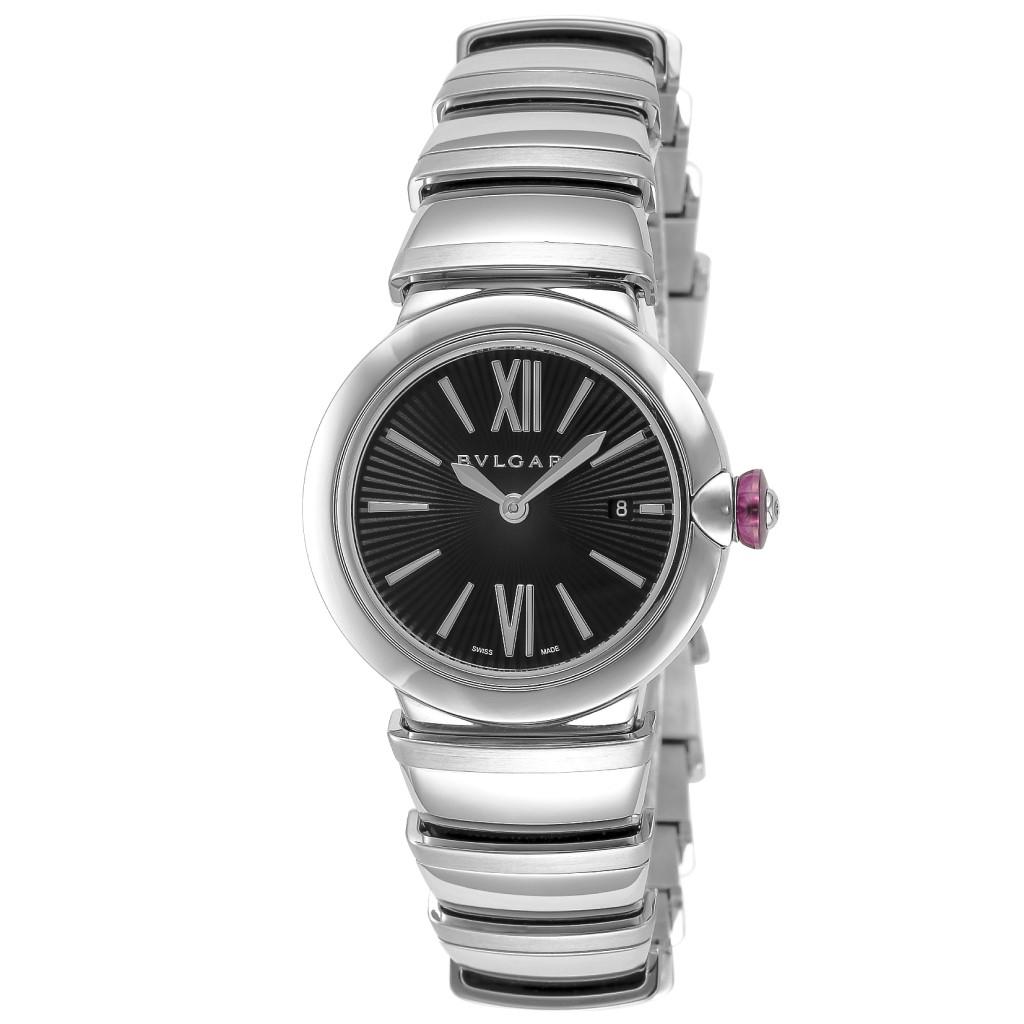 【72時間限定ポイント5倍】BVLGARI ブルガリ 腕時計 レディース ルチェア ブラック LU28BSSD