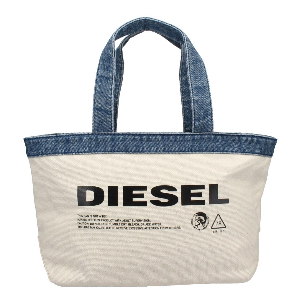 DIESEL ディーゼル トートバッグ レディース ホワイト X05532 P1737 H6810