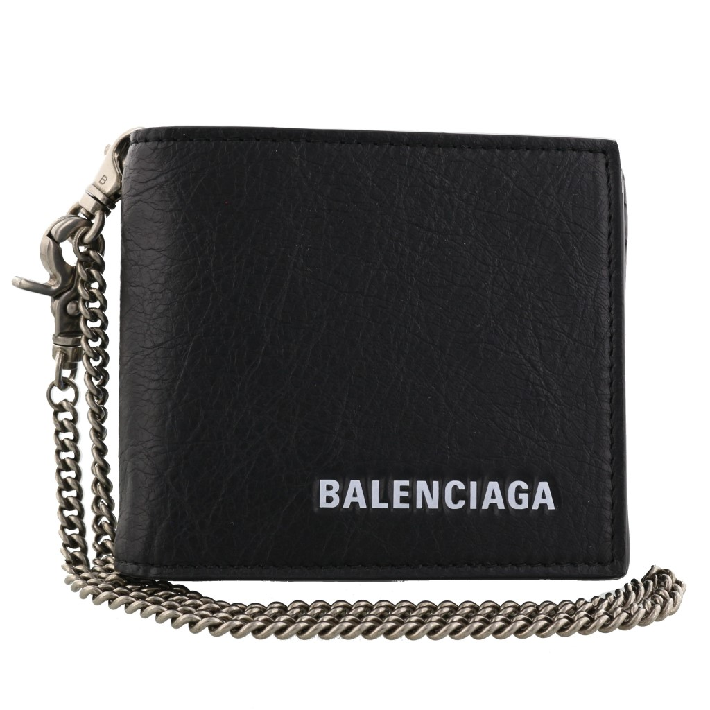 【期間限定ポイント5倍】バレンシアガ 二つ折り財布 BALENCIAGA メンズ エクスプローラー ブラック 504934 DB505 1000
