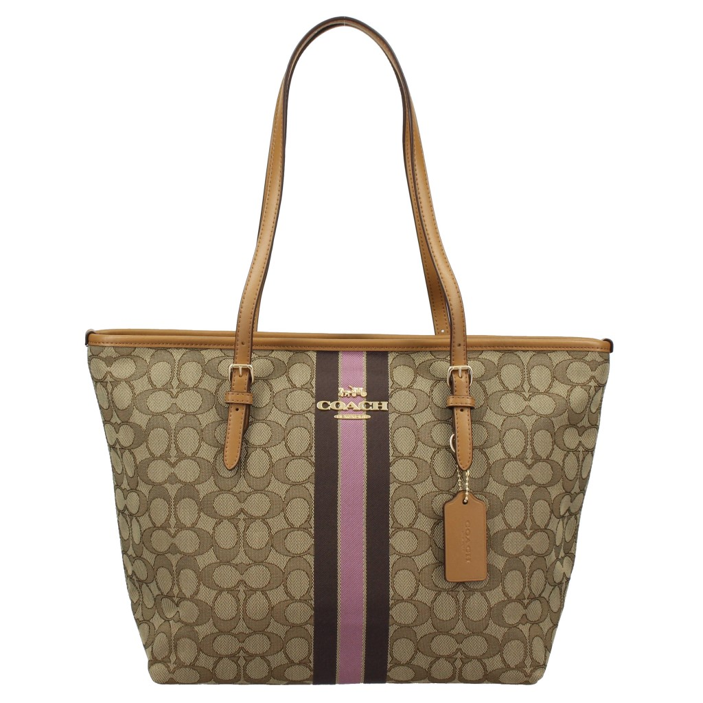 COACH OUTLET コーチ アウトレット トートバッグ レディース カーキマルチ F39043 IME7V 【F39043co】