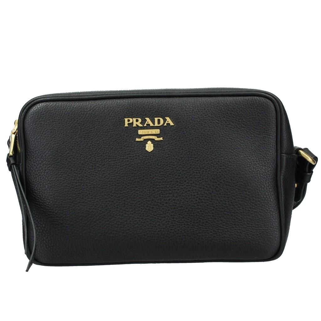b1f9d03e1276 【送料無料】PRADA(プラダ) ショルダーバッグ PRADA プラダ ショルダーバッグ レディース ブラック