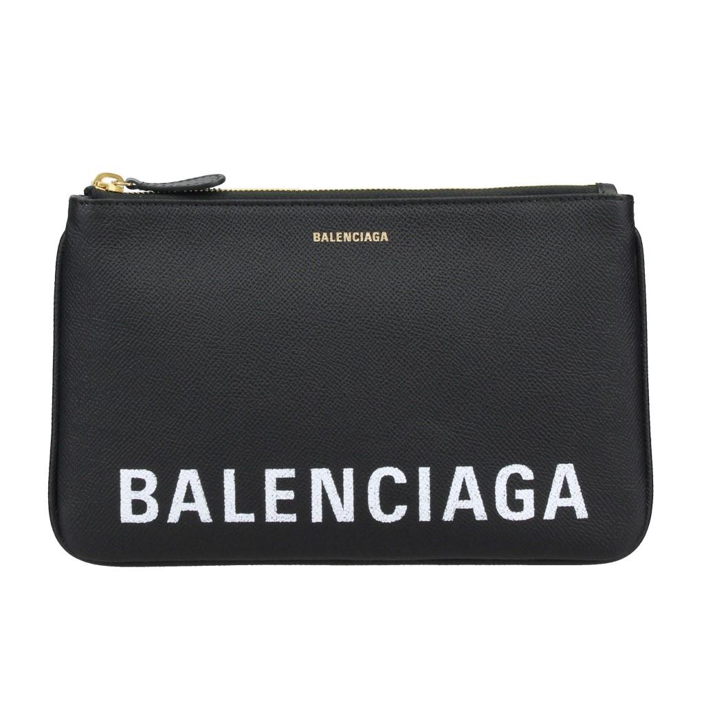BALENCIAGA バレンシアガ クラッチバッグ VILLE ブラック 545773 0OTDM 1000 BLACK