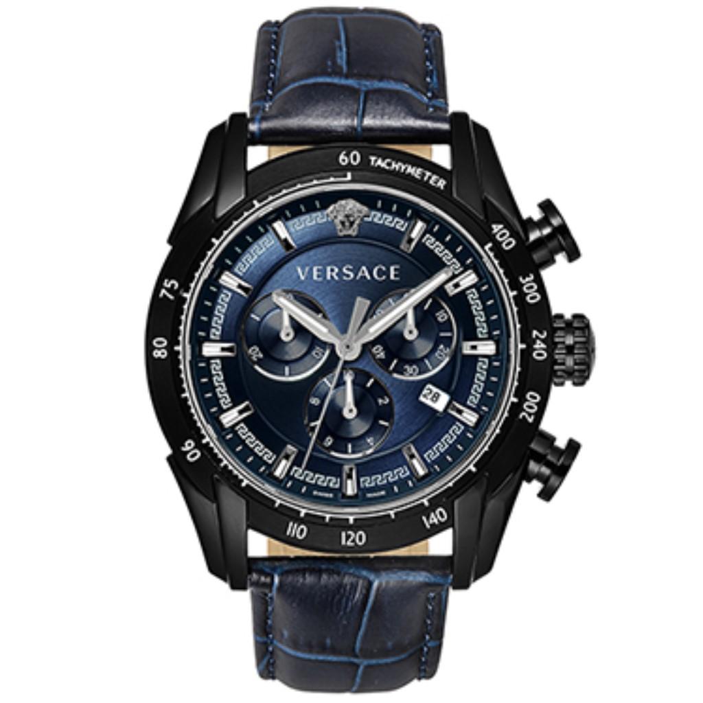 【72時間限定ポイント5倍】VERSACE ヴェルサーチ 腕時計 メンズ V-RAY ブラック VEDB00418