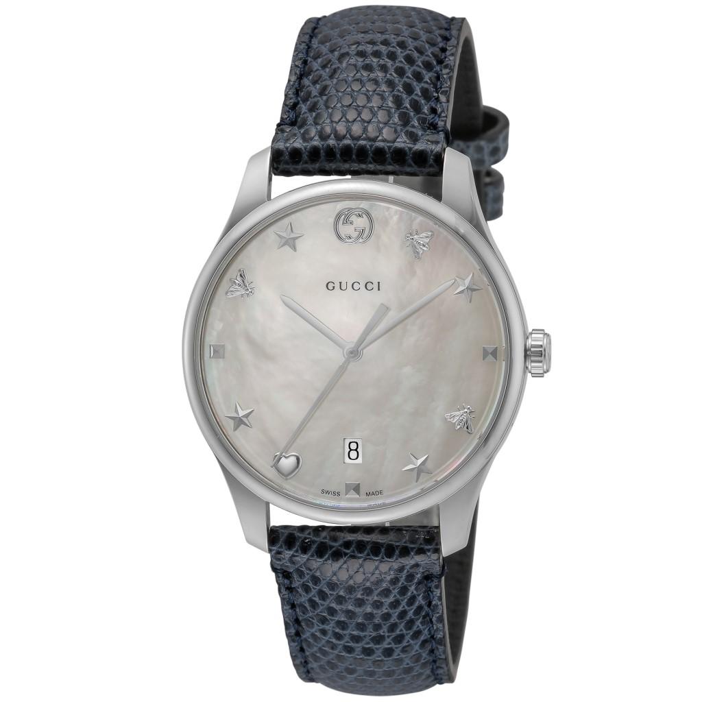 【期間限定ポイント10倍】グッチ 腕時計 GUCCI メンズ Gタイムレス ホワイトパール YA1264049