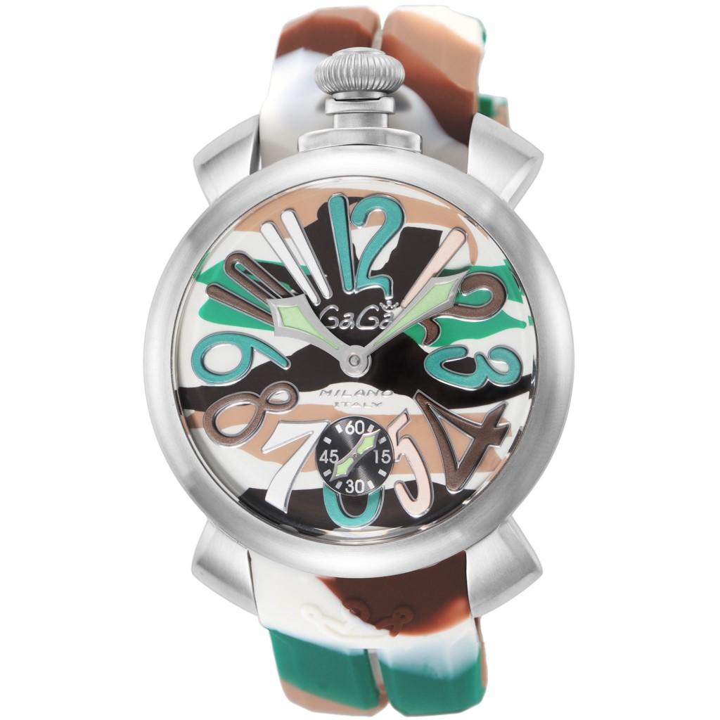 【期間限定ポイント5倍】GaGa MILANO ガガミラノ 腕時計 メンズ MANUALE 48MM カモフラージュ 5010.18S