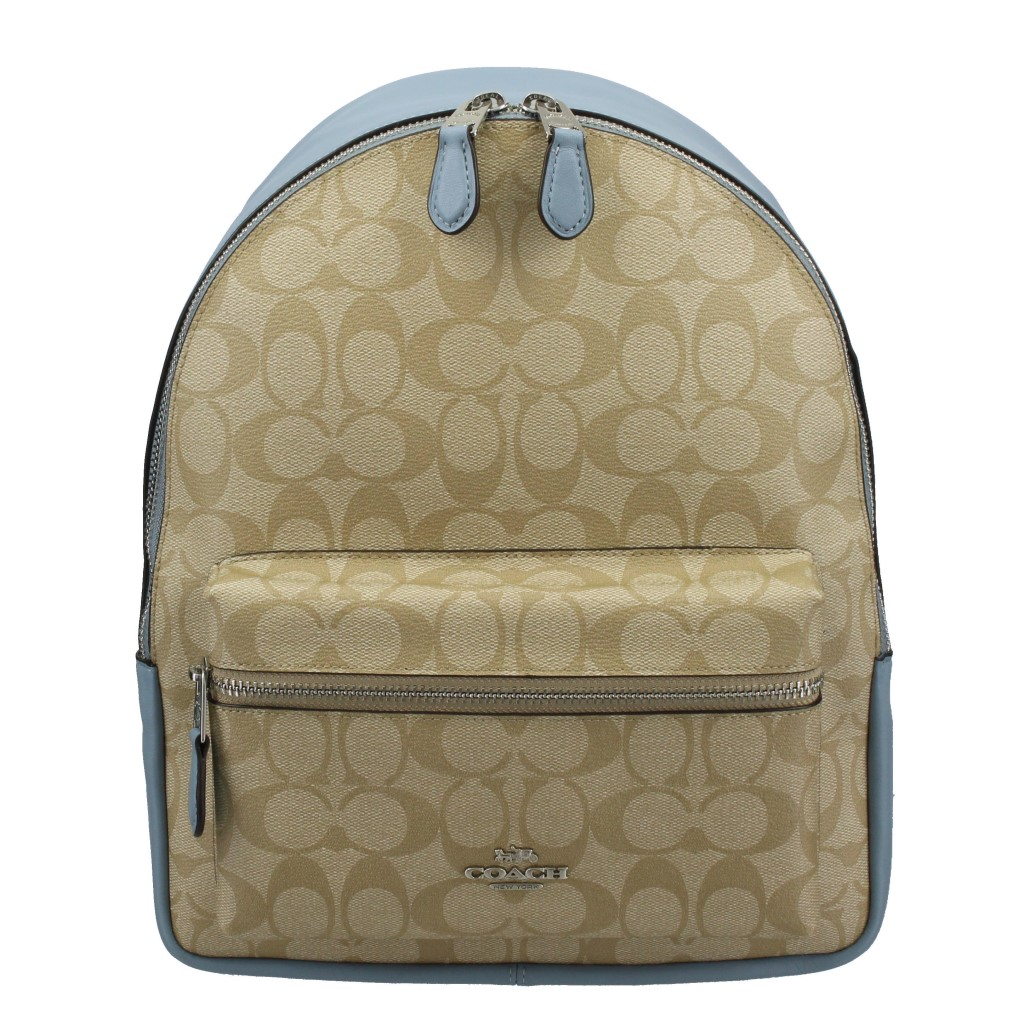 COACH OUTLET コーチ アウトレット バックパック ライトカーキ コーンフラワー F32200 SVCA0