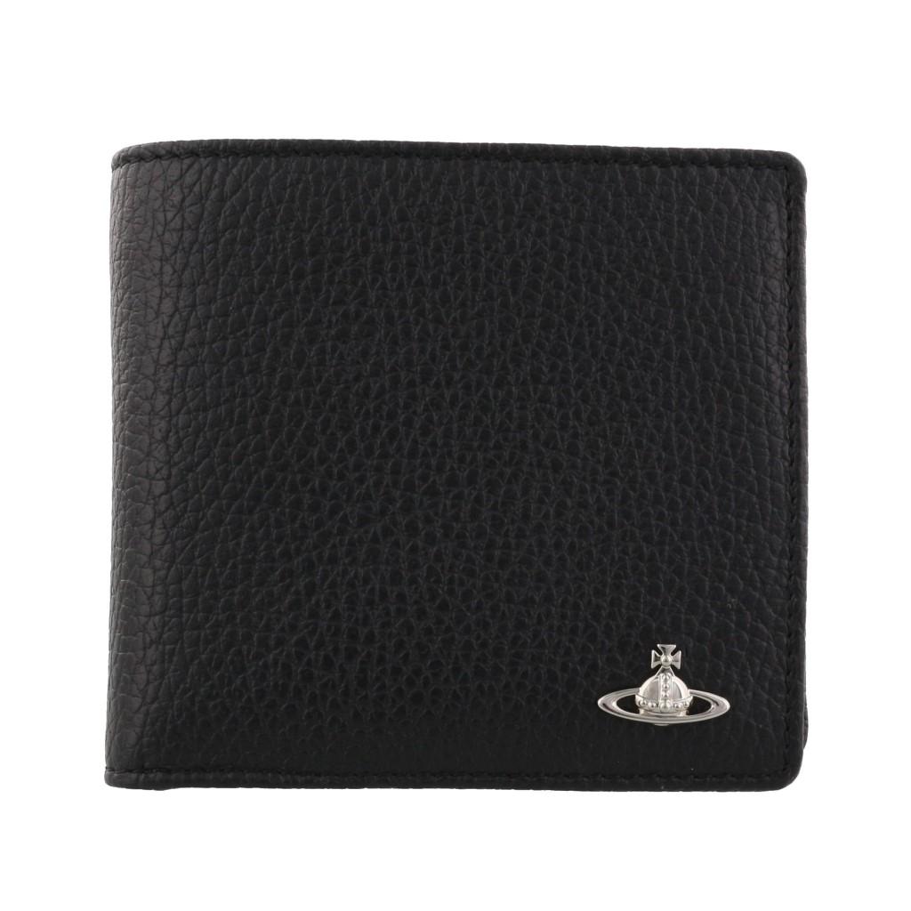 Vivienne Westwood ヴィヴィアンウエストウッド 二つ折り財布 ブラック 51010016 BLACK