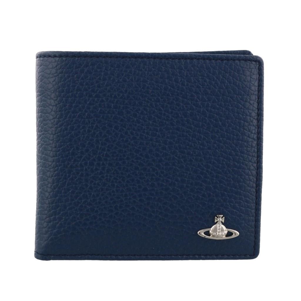 Vivienne Westwood ヴィヴィアンウエストウッド 二つ折り財布 ブルー 51010016 BLUE