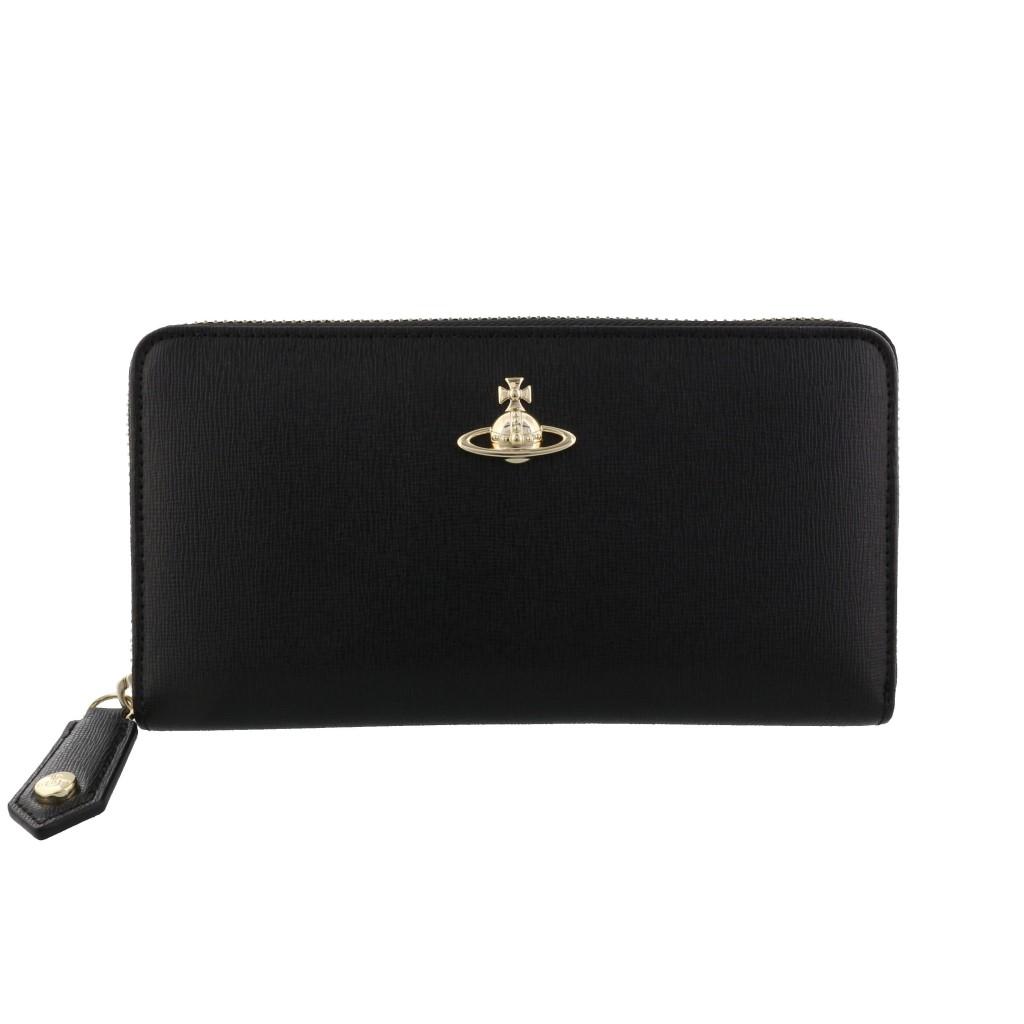 Vivienne Westwood ヴィヴィアンウエストウッド 長財布 ブラック 51050023 BLACK