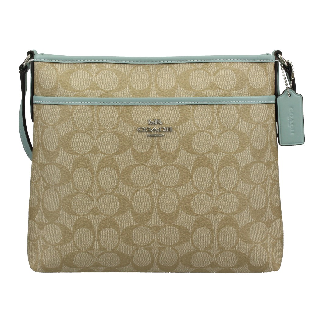 COACH OUTLET コーチ アウトレット ショルダーバッグ ライトカーキ シーフォーム F29210 SVOUP