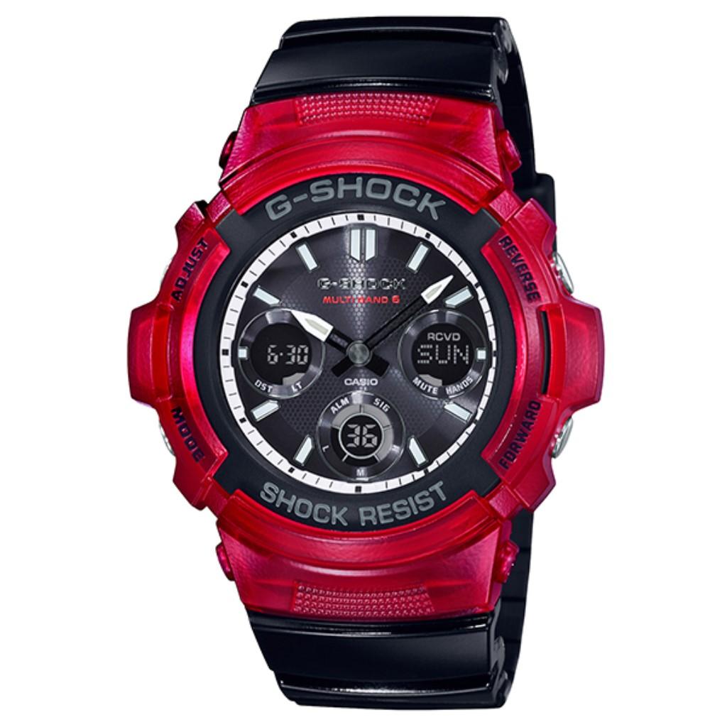 【72時間限定ポイント3倍】CASIO カシオ 腕時計 メンズ G-SHOCK Gショック AWG-M100SRB-4AJF