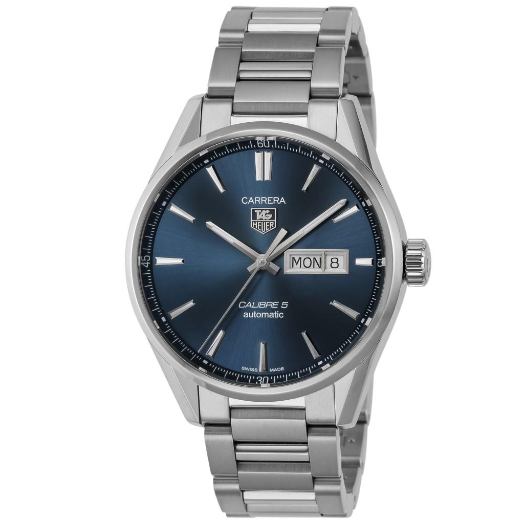 【72時間限定ポイント5倍】TAG Heuer タグホイヤー 腕時計 メンズ カレラ キャリバー5 デイデイト WAR201E.BA0723