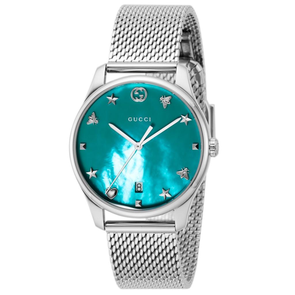 【期間限定ポイント10倍】GUCCI グッチ 腕時計 ユニセックス Gタイムレス ブルー YA1264039