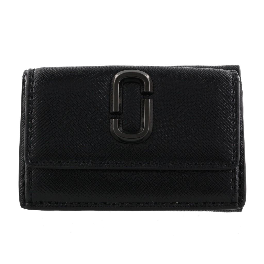 MARC JACOBS マークジェイコブス 三つ折り財布 スナップショット ブラック M0014987 001 BLACK