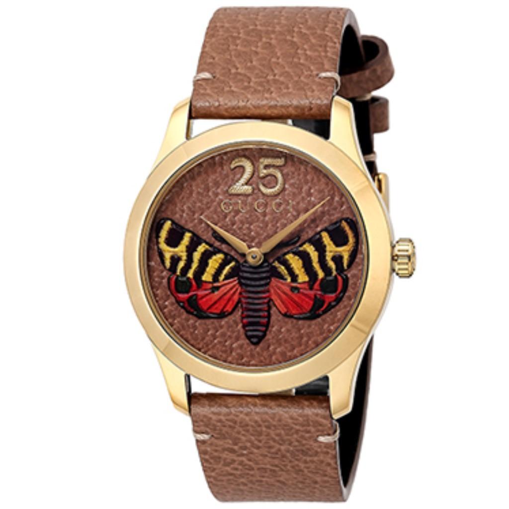 【期間限定ポイント10倍】グッチ 腕時計 レディース GUCCI Gタイムレス ベージュ YA1264063