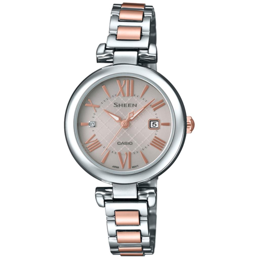 【72時間限定ポイント3倍】CASIO カシオ 腕時計 レディース SHEEN SHS-4502SPG-9AJF シーン