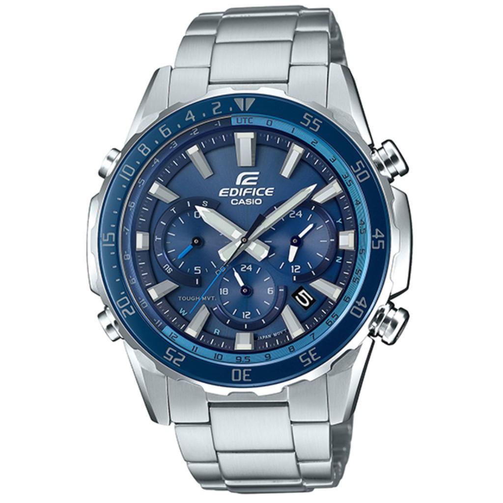 【72時間限定ポイント3倍】CASIO カシオ 腕時計 メンズ EDIFICE ブルー EQW-T670DB-2AJF エディフィス