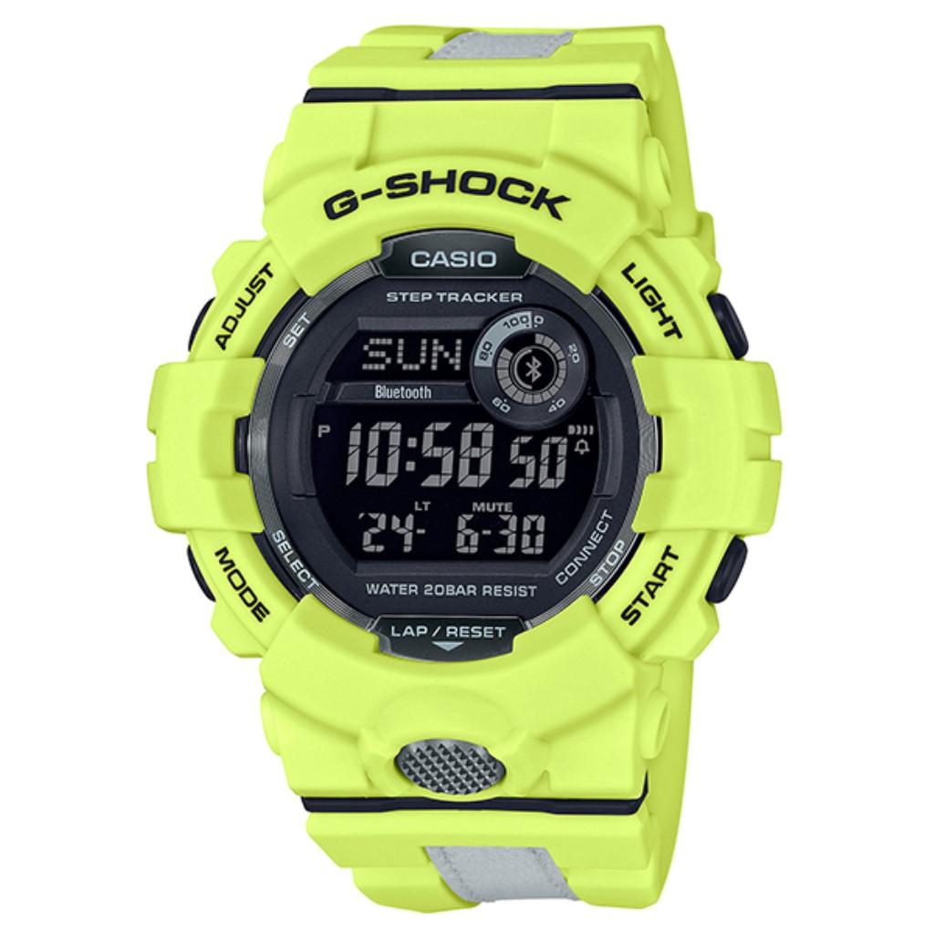 【72時間限定ポイント3倍】CASIO カシオ 腕時計 メンズ G-SHOCK イエロー GBD-800LU-9JF Gショック