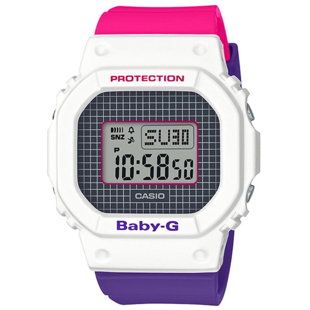 【72時間限定ポイント3倍】CASIO カシオ 腕時計 レディース Baby-G ホワイト BGD-560THB-7JF ベビーG