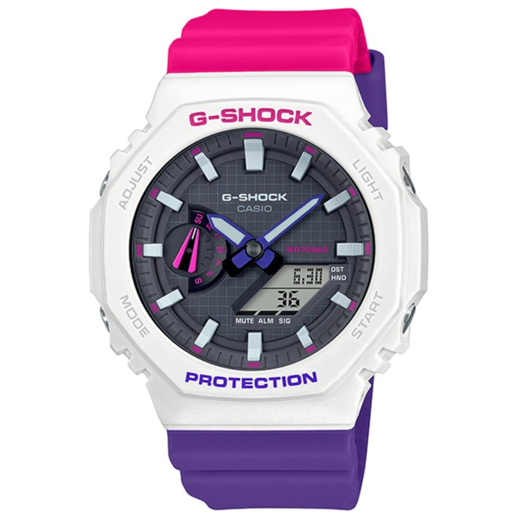 【72時間限定ポイント3倍】CASIO カシオ 腕時計 メンズ G-SHOCK ホワイト GA-2100THB-7AJF Gショック