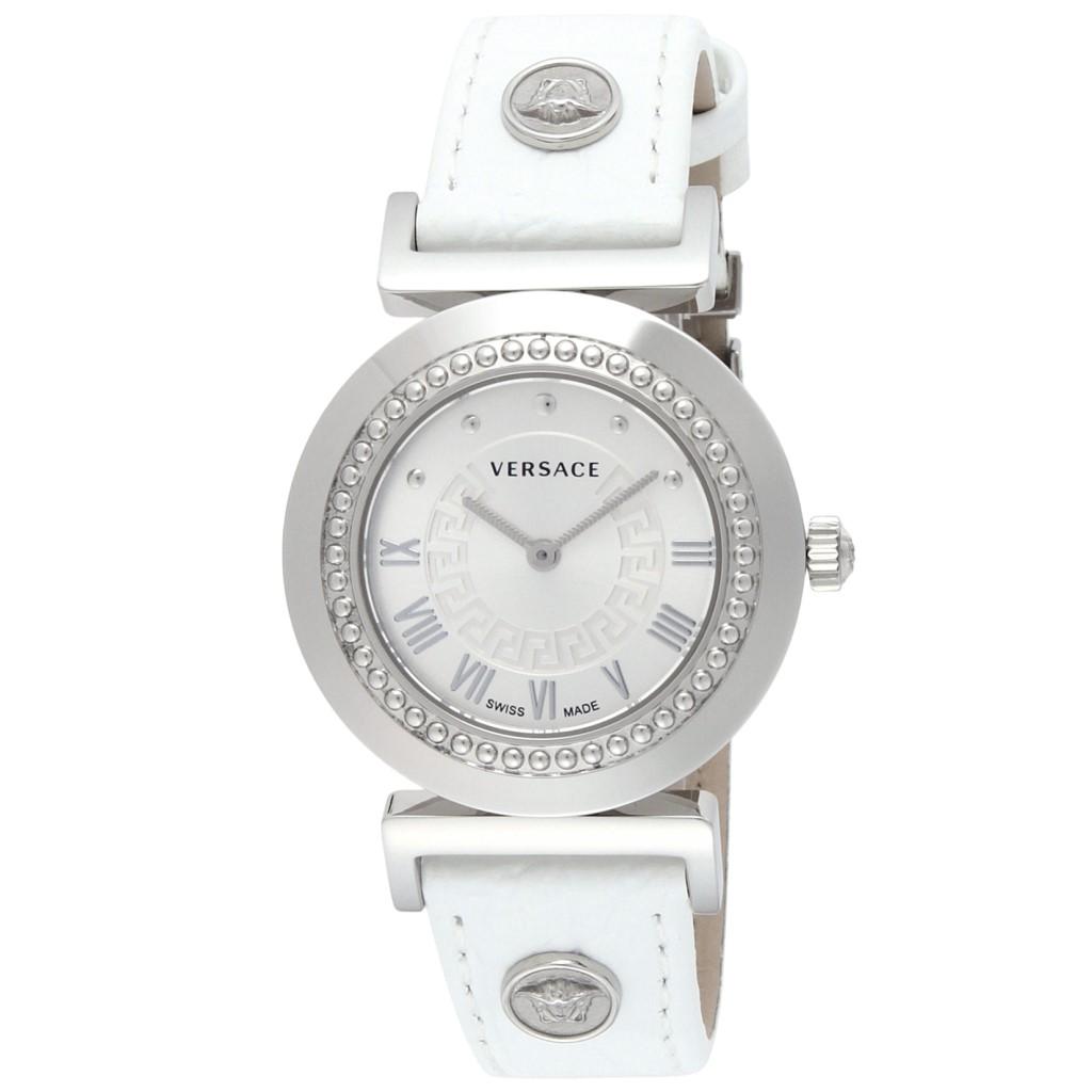 【期間限定ポイント2倍】VERSACE ヴェルサーチ 腕時計 レディース VANITY ホワイト P5Q99D001S001