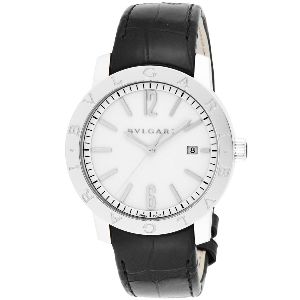 【72時間限定ポイント5倍】BVLGARI ブルガリ 腕時計 メンズ ブルガリブルガリ ホワイト BB41WSLD