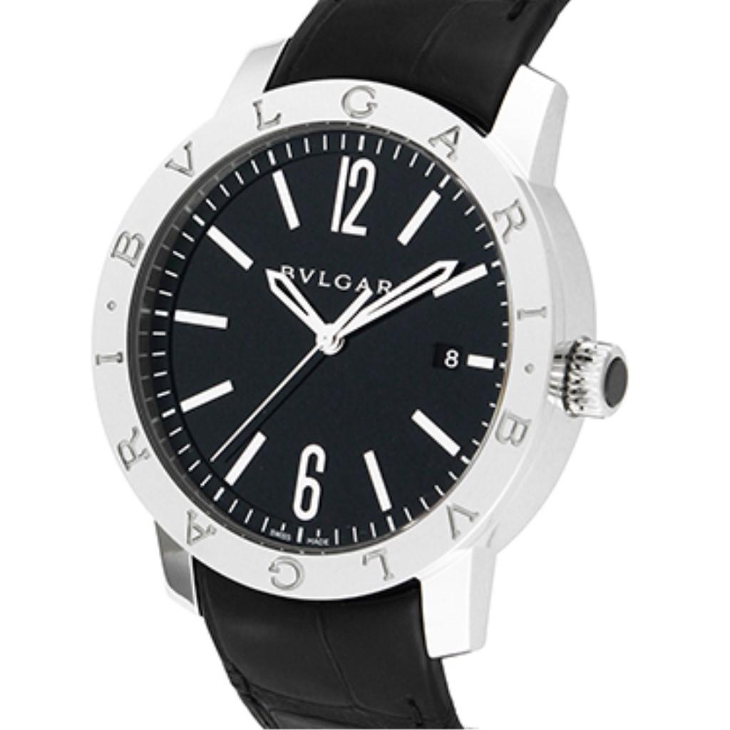 BVLGARI ブルガリ 腕時計 メンズ ブルガリブルガリ ブラック BB41BSLD
