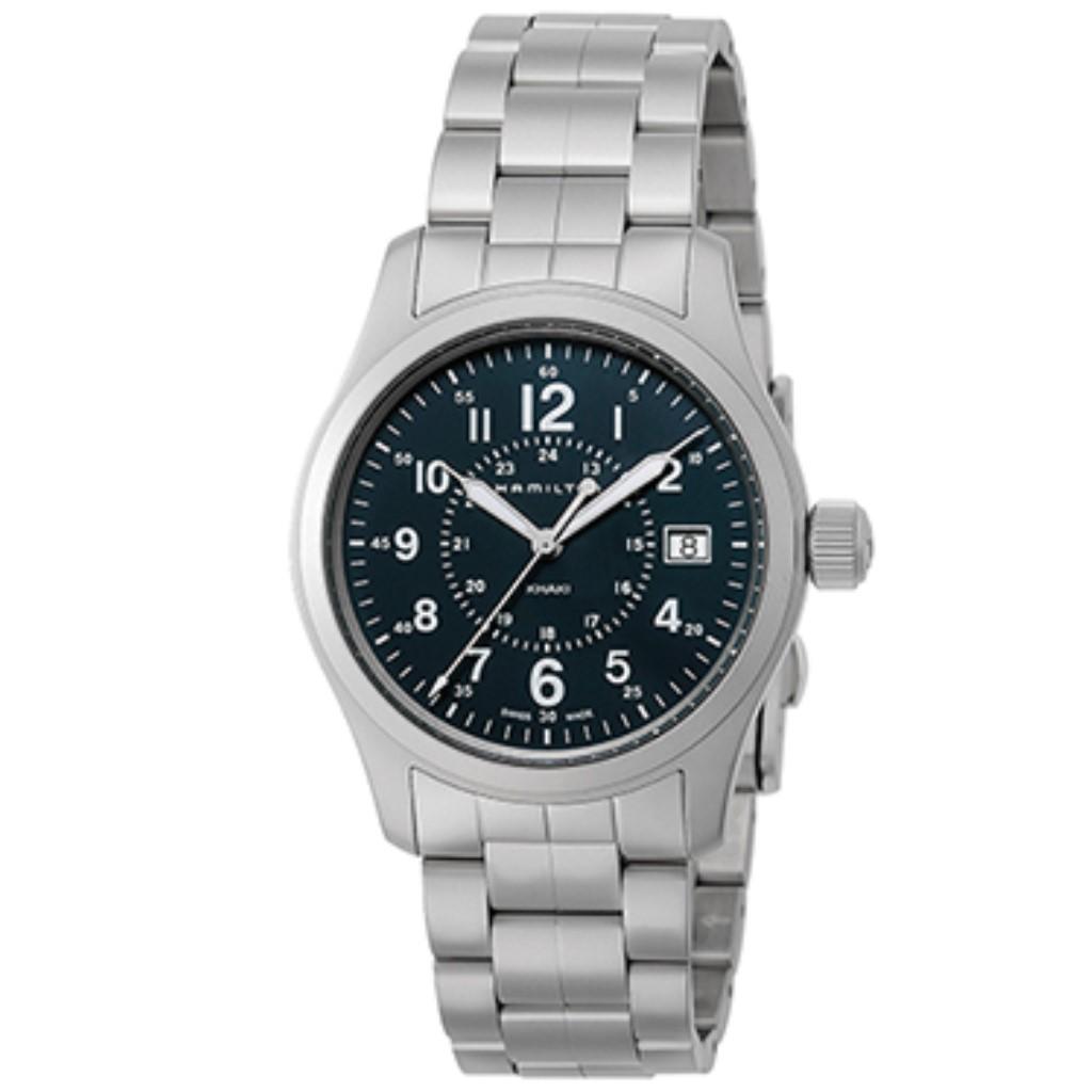【期間限定ポイント5倍】HAMILTON ハミルトン 腕時計 メンズ カーキフィールド ブラック H68201143