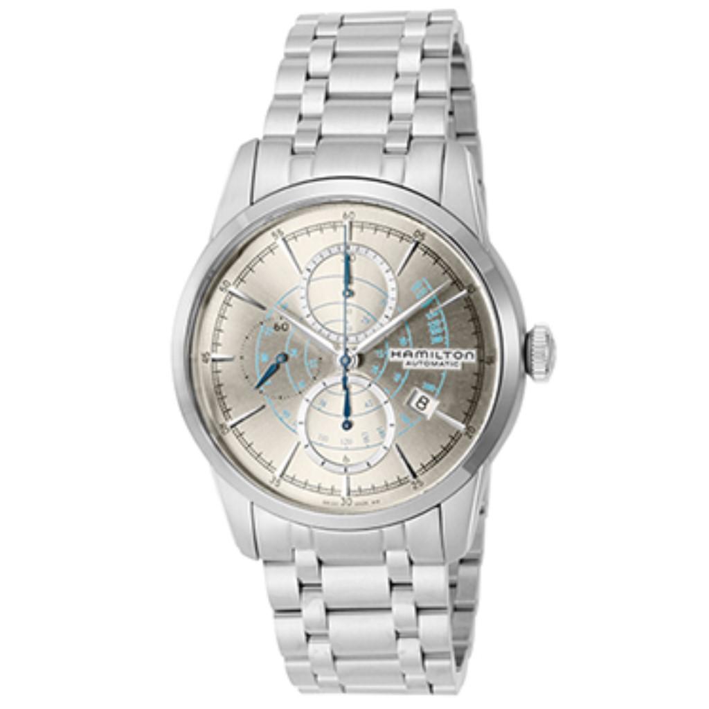 【72時間限定ポイント5倍】HAMILTON ハミルトン 腕時計 メンズ レイルロード シルバー H40656181