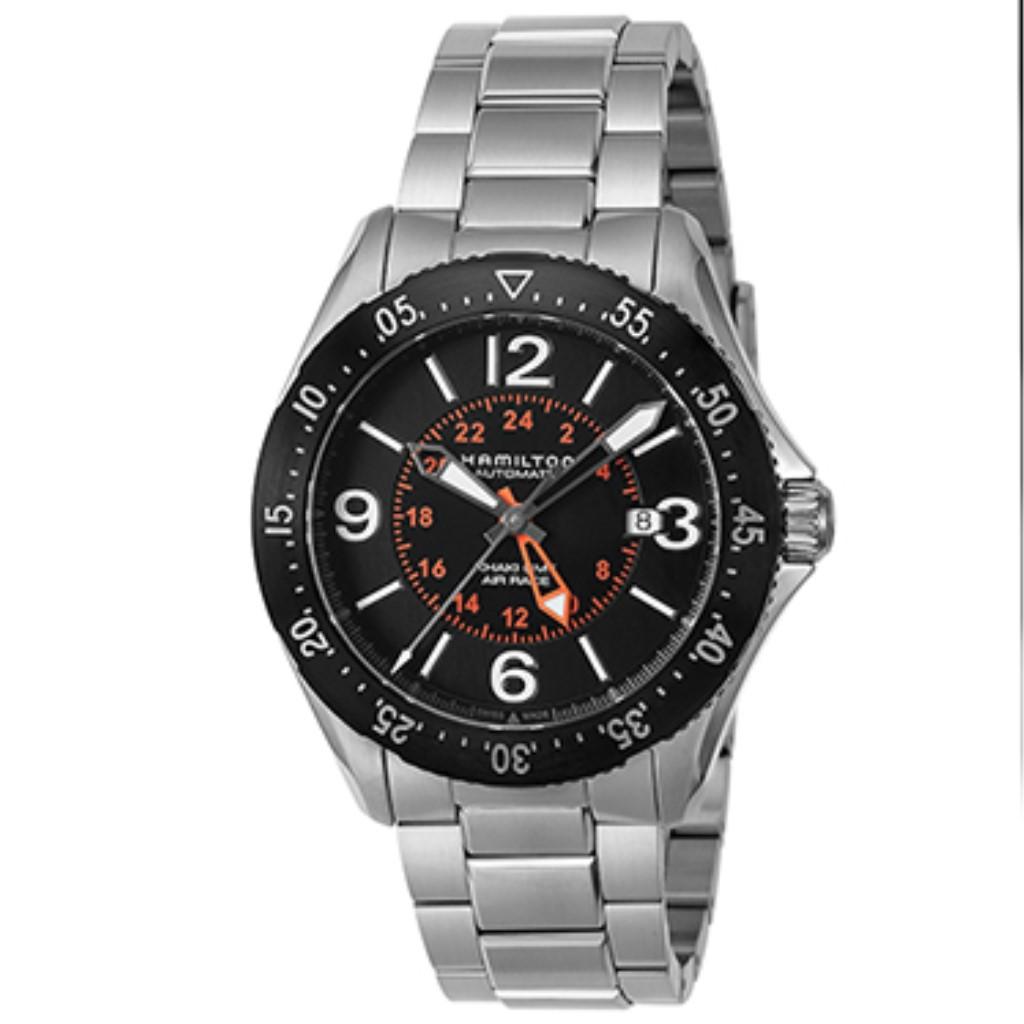 【72時間限定ポイント5倍】HAMILTON ハミルトン 腕時計 メンズ カーキアビエイション ブラック H76755131