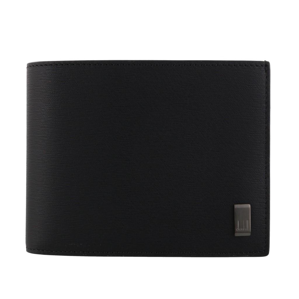 【期間限定ポイント5倍】ダンヒル 二つ折り財布 dunhill メンズ ブラック DU19F2F32SG001R BLACK