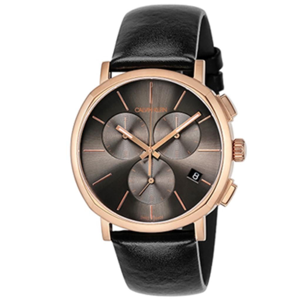 【72時間限定ポイント5倍】【72時間限定ポイント5倍】Calvin Klein カルバンクライン 腕時計 メンズ ポッシュ ブラック K8Q376.C3