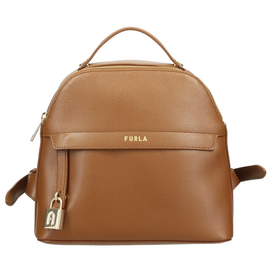 FURLA フルラ バックパック レディース パイパー ブラウン 1060270 ARE 03B COGNAC
