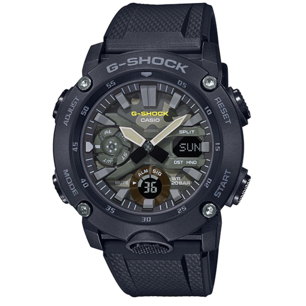 【72時間限定ポイント3倍】CASIO カシオ 腕時計 メンズ Gショック GA-2000SU-1AJF G-SHOCK