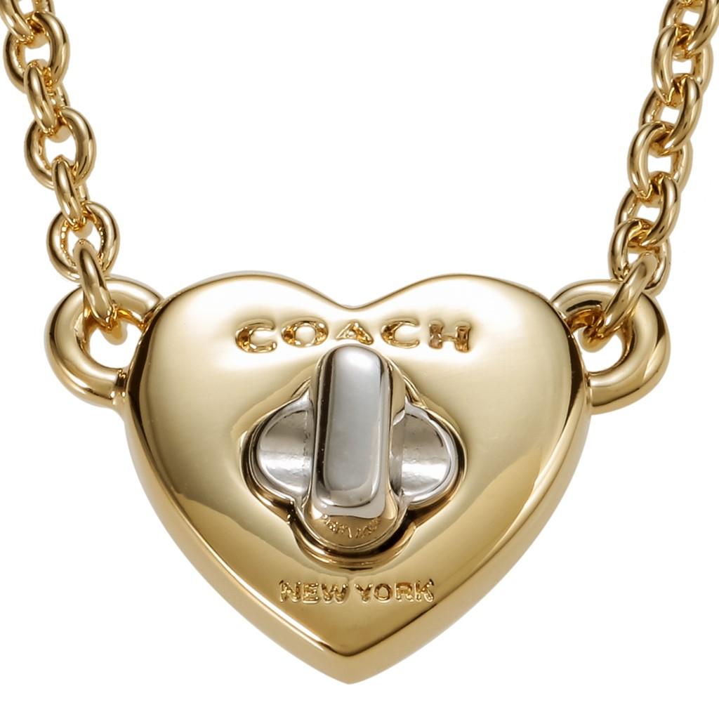 COACH OUTLET コーチアウトレット ネックレス レディース ゴールド F54487 GD/SV/N