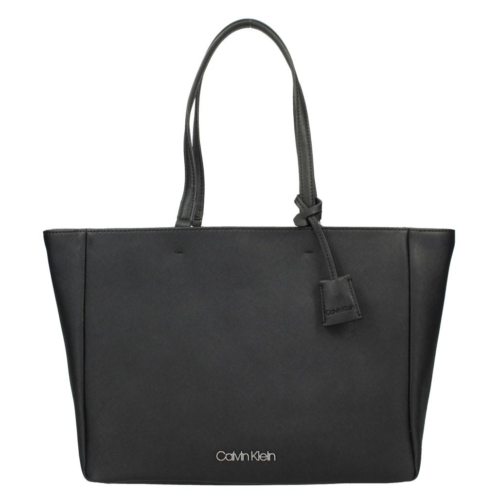 【期間限定ポイント10倍】カルバンクライン Calvin Klein トートバッグ レディース K60K606026 BLACK WORKED SHOPPER BAG